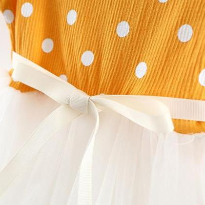 Yellow Dress for Baby Girls Princes..