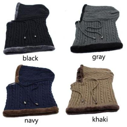 One Piece Gray Winter Hats for Men ..