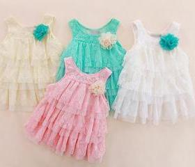 White Baby Dress Top..