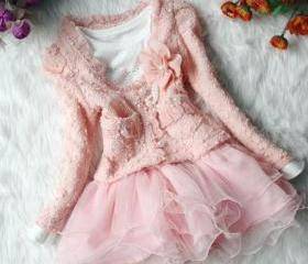Pink Dress for 2T Gi..