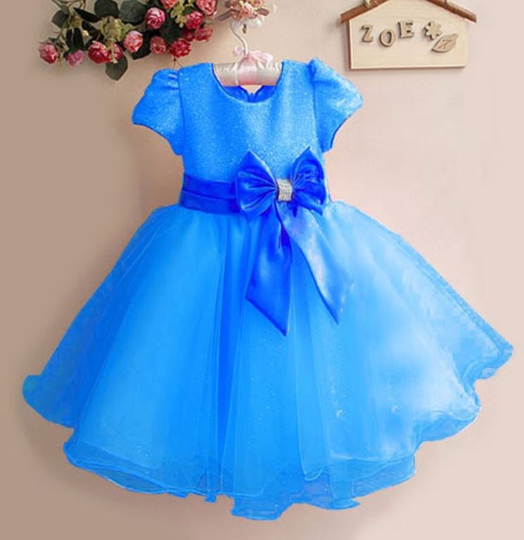 Blue Dress for Girls Royal Blue Dress Royal Blue Wedding Dress Blue Dresses 5T,6T and above