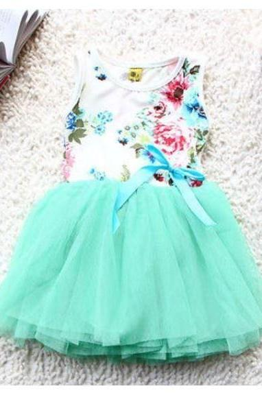 Mintgreen Dress for Girls Mint Green Tutu Dress for Infant Girls Baby Girl Tutu
